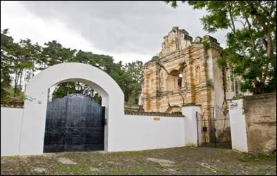 Kostel vAntigua