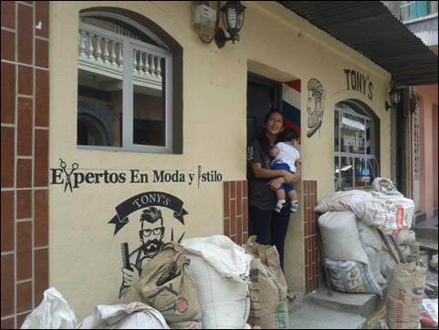 Barbershop Santiago de Atitlan